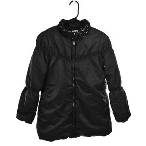 The Children's Place Black Puffer Coat